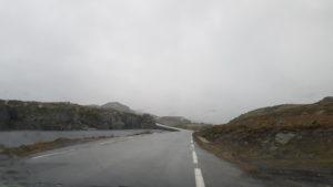 """Bjørgavegen, """"drumul zăpezii"""", Norvegia"""