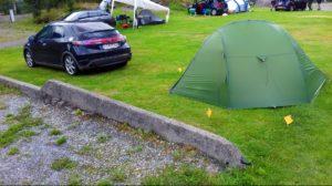 Campare lângă Odda, Norvegia