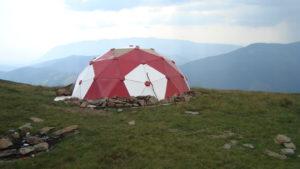 Refugiu în Munții Făgărașului
