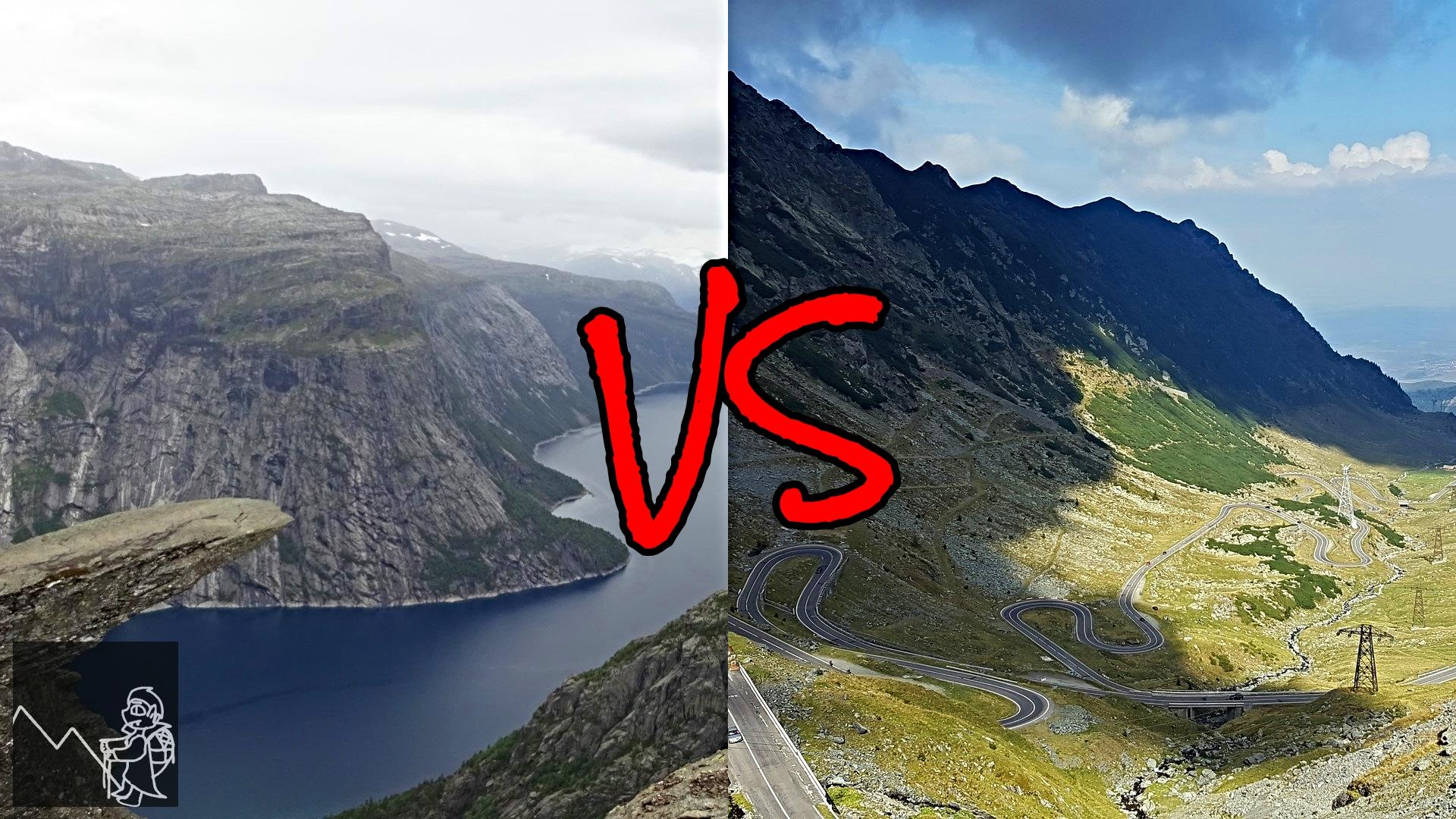 Drumeții montane în Transilvania vs Norvegia: Unde e mai bine?