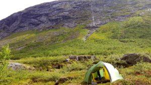 Wild camping in Møre og Romsdal county